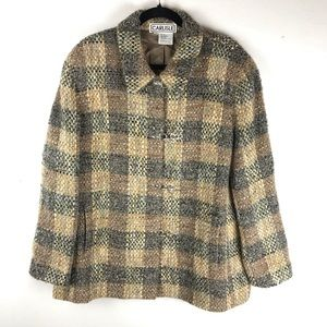 Carlisle 18 Tweed Plaid Wool Coat
